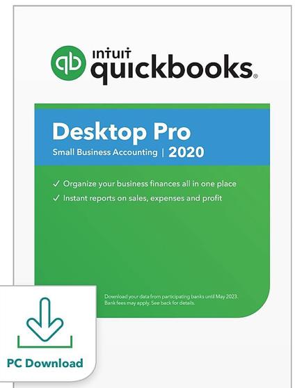 Intuit Quickbooks-Desktop Pro 2020